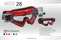 popular colorful motocross goggles-MXG26